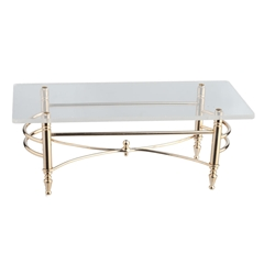 Brass Coffee Table