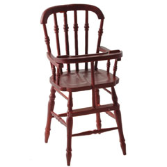 Mahogany Victorian High Chair