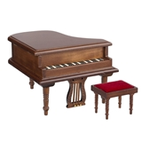 Isaac Estate Baby Grand Piano and Bench