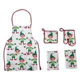 4-Pc. Elf Apron Set