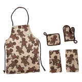4-Pc. Gingerbread Apron Set