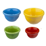 Deco Brights 4-Pc. Nesting Bowl Set