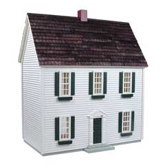 "1/2"" Scale Colonial Dollhouse Kit by RGT"