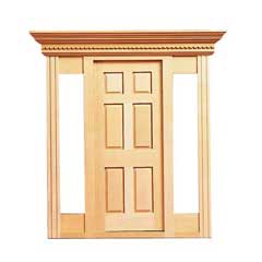 Playscale Jamestown Exterior Door