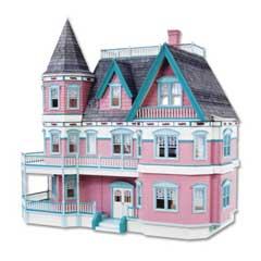 The Queen Anne II Dollhouse by Real Good Toys