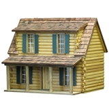 1/24 Scale Adirondack Cabin by RGT