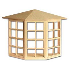 1/2 inch Scale Bay Window