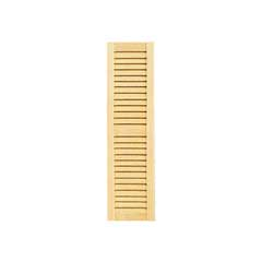 1/2 inch Scale Louvered Shutter