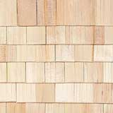 1/2 inch Scale Square Butt Cedar Shingles