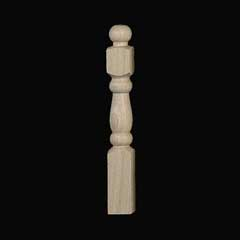 1/2 inch Scale Newel Post