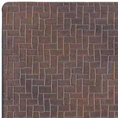 1/2 inch Scale Herringbone Brick Sheet