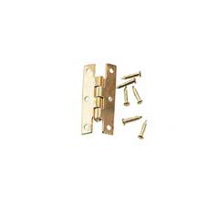 Gold Plated Brass H Hinge by Houseworks