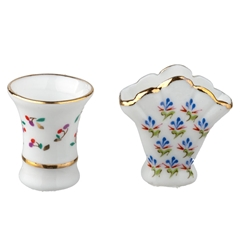 2-Pc. Vase Set by Reutter Porzellan