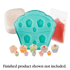Cupcake Cookie Mold Kit by Stewart Dollhouse Creations