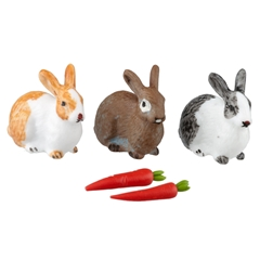 4-Pc. Bunny and Veggies Set by Reutter Porzellan