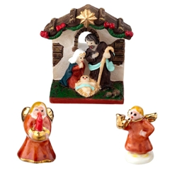 3-Pc. Nativity Set by Reutter Porzellan