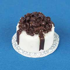 Chocolate Ribbon Cake