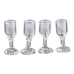 Set of Four Wine Goblets