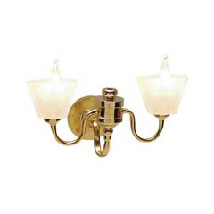 Double Square Shade Wall Sconce