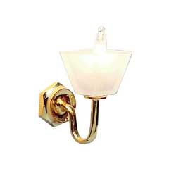 Single Square Shade Wall Sconce