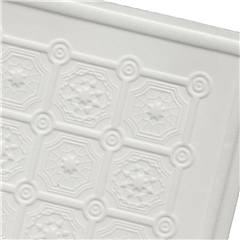 Embossed Decorative Faux Tin Ceiling/Wall Sheet