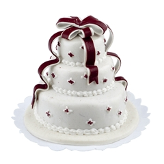 Festive Tiered Cake