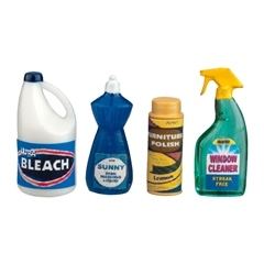 Four Piece House Cleaning Supplies Set