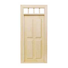 Four-Panel Traditional Door