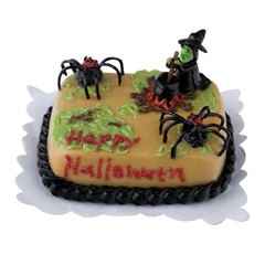 Witch and Spider Sheetcake