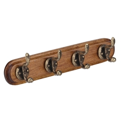 4-Hook Coat Rack