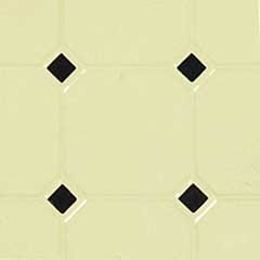 Tan & Black Diamond Tile Sheet