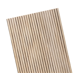"1/8"" Lap Oak Beadboard Sheet 12""L"
