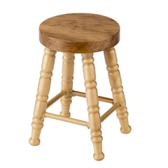 Oak Counter Stool