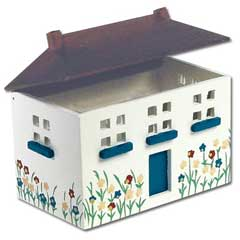 Handpainted Doll's Dollhouse