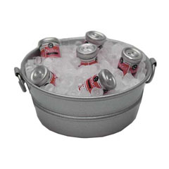 Tub with Drinks on Ice