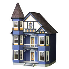 Painted Lady Dollhouse Kit by Real Good Toys