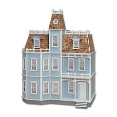 The Newport Milled MDF Dollhouse by Real Good Toys