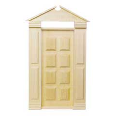 1/2 inch Scale Traditional Americana Door