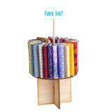 Carousel Fabric Display Kit with Bolts and Fabric