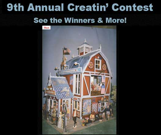 10th Creatin' Contest Results