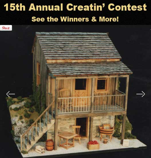 15th Creatin' Contest Results