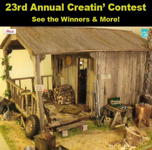 23rd Creatin' Contest Results