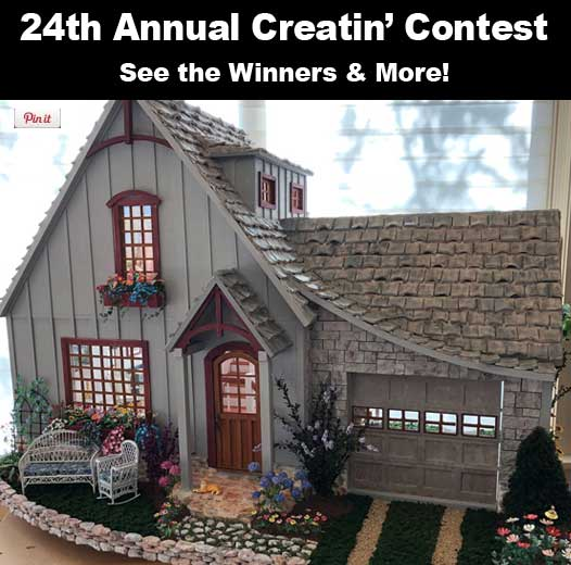 24th Creatin' Contest Results