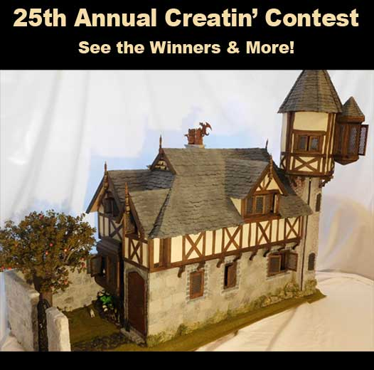 25th Creatin' Contest Results