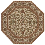 Autumn Vines Octagon Rug