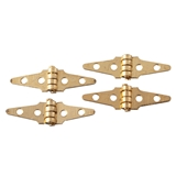 Gold Plated Brass Triangle Hinge by Houseworks