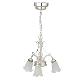 Glenn 3-Arm Battery-Operated LED Chandelier