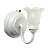 Kenwick White Tulip Sconce by Houseworks
