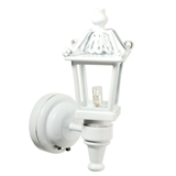 Fuller White Carriage Light by Houseworks