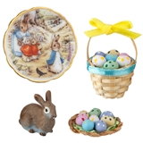 4-Pc. Peter Rabbit Easter Set from Reutter Porzellan
